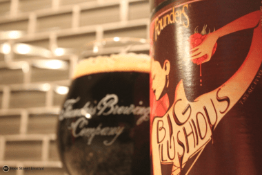 Founders Big Lushious rounded out 2014 with dessert. The rich stout was loaded with notes of coffee, dark chocolate and of course, raspberries. For days.